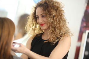 Andreea Bondăraș - make-up artist